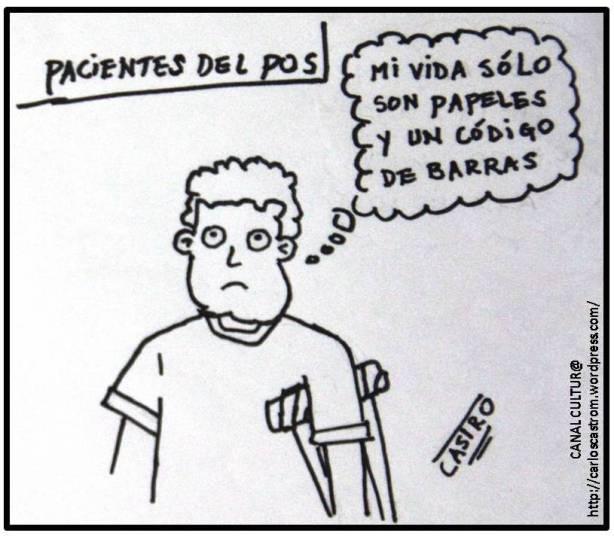 Caricatura de CASTRO