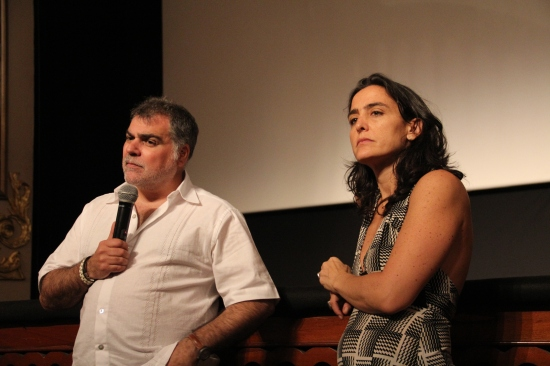Benito Zambrano y Monika Wagenberg en FICCI - CANAL CULTUR@ - Foto Luis castroman