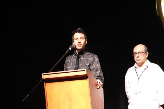 Santiago Mitre ganador con El estudiante en FICCI - CANAL CULTUR@ - Foto Luis castroman