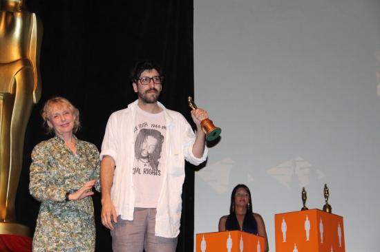 Claire Denis entrega premios en FICCI - CANAL CULTUR@ - Foto Luis castroman