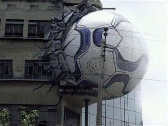 balon en edificio ramos