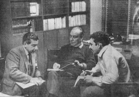 Augusto Roa Bastos, Leopoldo Marechal y Gabriel García Márquez