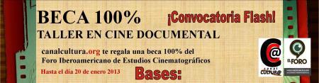 Bases Horizontal BECA cine documental - canal cultura - Foro portada