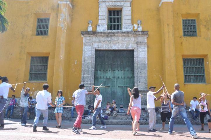 Cartagena Colombia Getsemaní