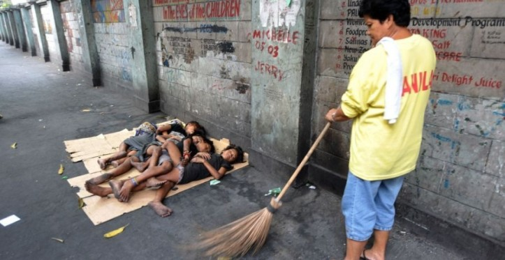 niños indigentes en mundial Brasil