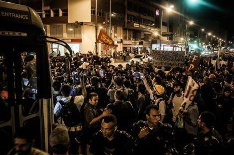protestas en brasil mundial fútbol goles
