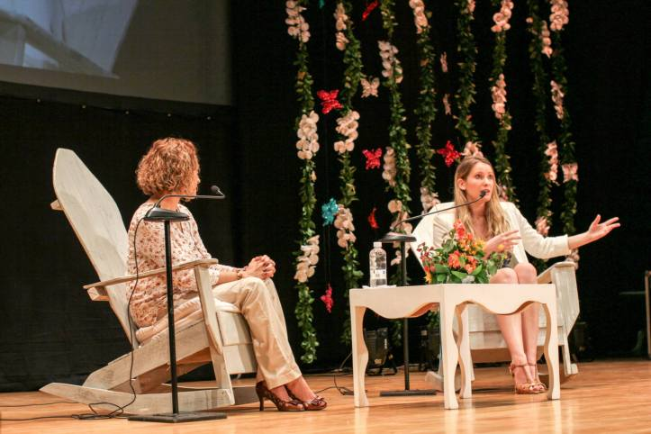 Laura Bates - Jineth Bedoya - Canal Cultura - Hay Festival