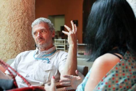 Sergio Cabrera - Cine en Colombia foto canal cultura Rafael Bossio