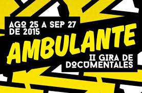 Programación y Catálogo Ambulante 2015