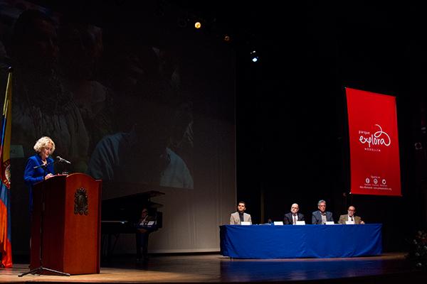 Discurso de Martha Nussbaum al recibir el doctorado honoris causa en UdeA foto parque explora